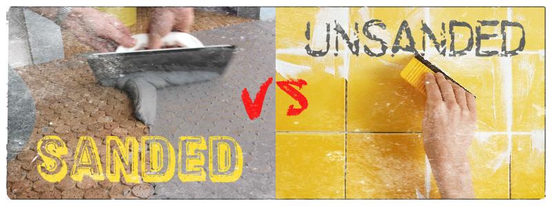 sanded vs unsanded grout grout for the bathroom. Black Bedroom Furniture Sets. Home Design Ideas