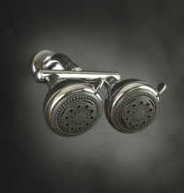Neptune Dual Shower Heads - Chrome