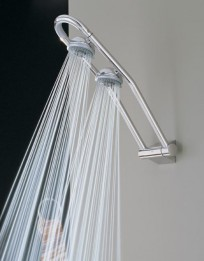GROHE 27 007 000 Free-hander Dual Head Shower System