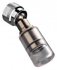 High Sierra 1.5 GPM High Efficiency Low Flow Shower Head, Polished Chrome